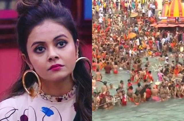 devoleena anger erupted over shahi snan kumbh says is this corona free state