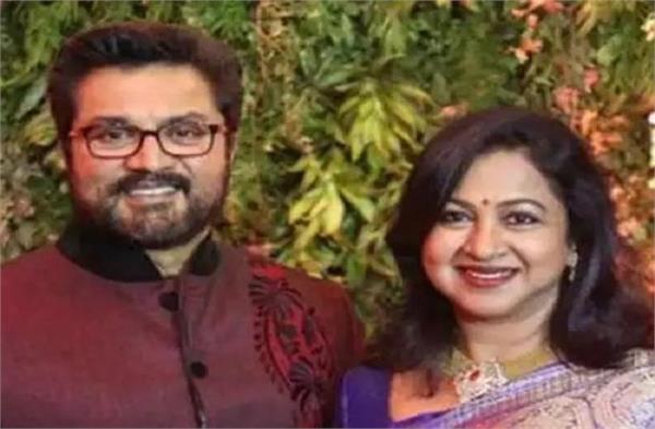 court sentenced r sarathkumar radhikaa one year imprisonment cheque bounce case