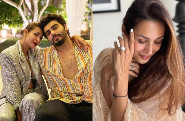 is malaika arora do engagement with arjun kapoor