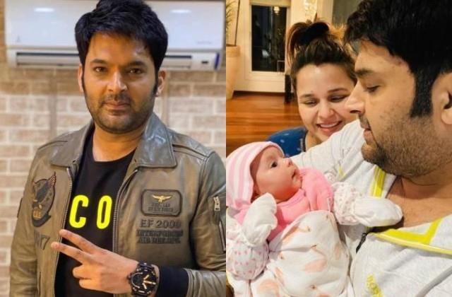 kapil sharma reveal his baby boy name and it is trishaan