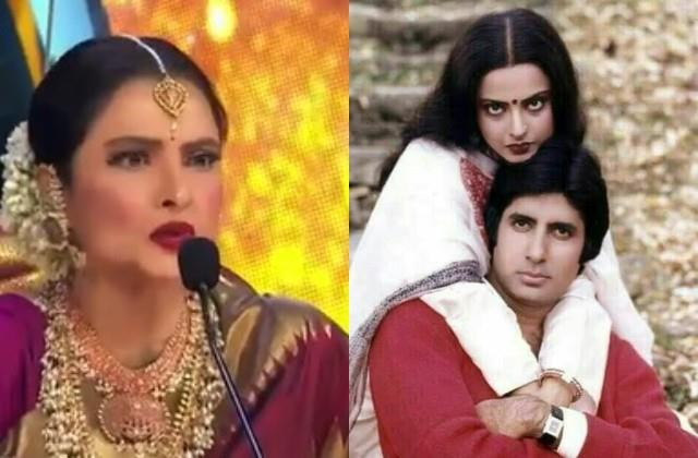 rekha shocking reply when asked about women being in love with married man