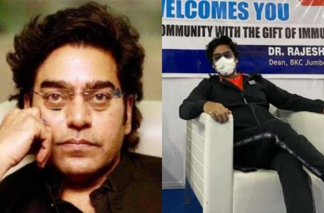 ashutosh rana test coronavirus positive after taking first dose of vaccine