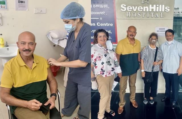 hrithik roshan parents rakesh pinkie roshan get second dose of vaccine