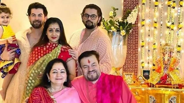 nil nitin mukesh and his family few members tested covid 19 positive