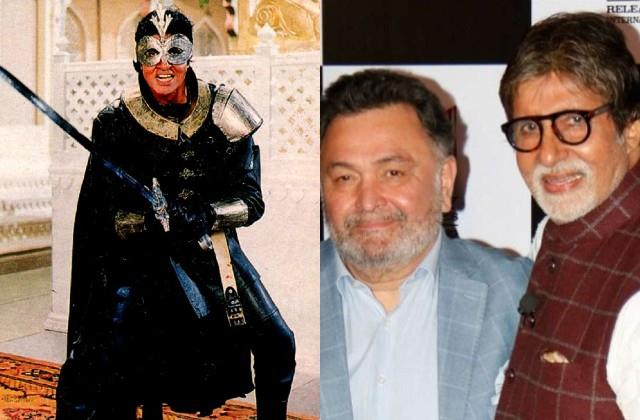 amitabh film ajooba completed 30 years actor remembering rishi kapoor