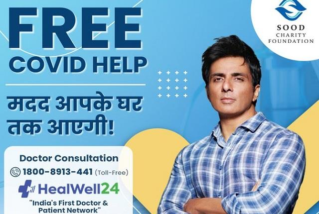 sonu sood launches free covid help
