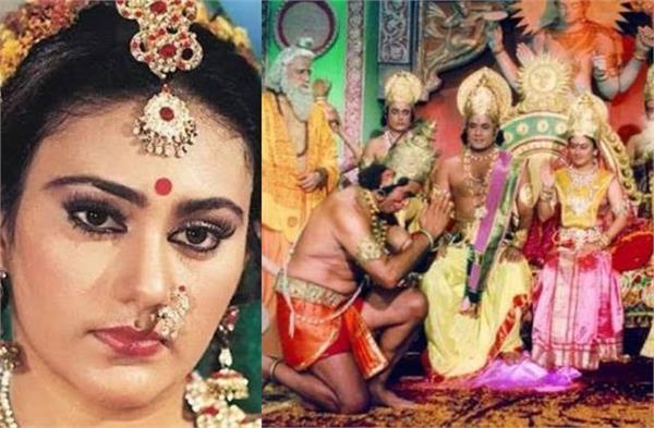 रामकथा:फैंस की डिमांड पर फिर हुईं 'रामायण' की वापसी, टीवी की सीता बोलीं-'इतिहास खुद को दोहरा रहा है'