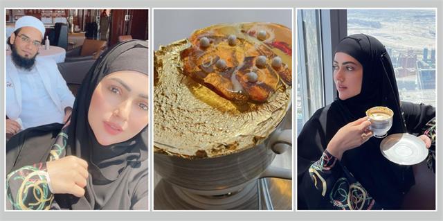 husband anas saiyed gives big surprise to sana khan in burj khalifa