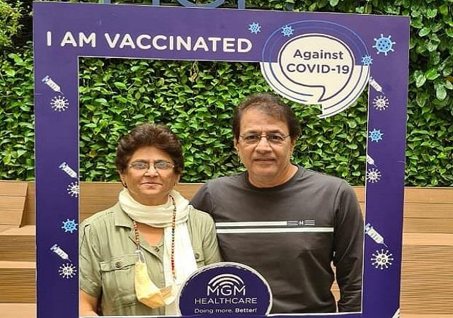arun govil took second dose of corona vaccine