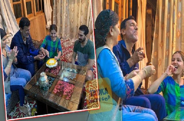 rubina dilaik celebrated her father birthday