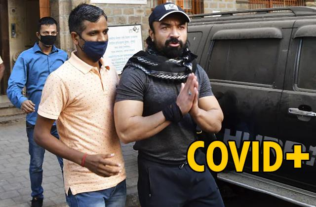 ajaz khan who arrested by ncb drugs case test covid 19 positive