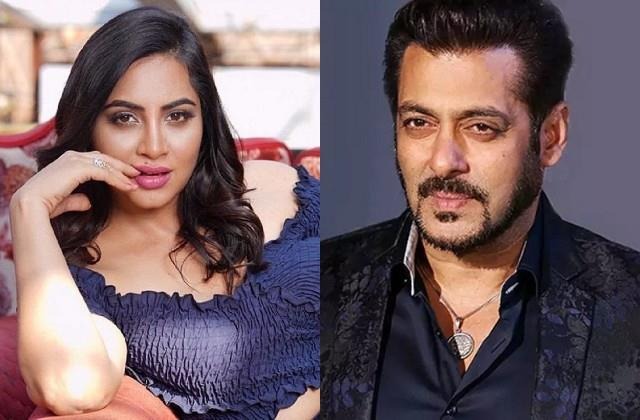 arshi khan praised salman khan for help in treating rakhi sawant mother