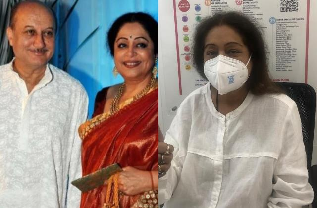 as kirron kher battles cancer husband anupam kher quite american show