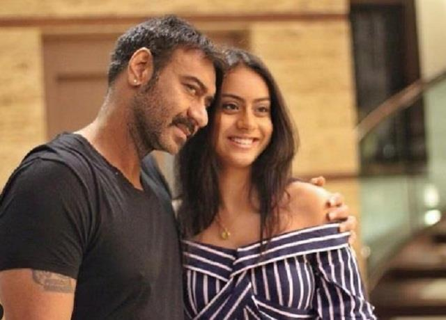 ajay devgan wishes her daughter nysa 18th birthday