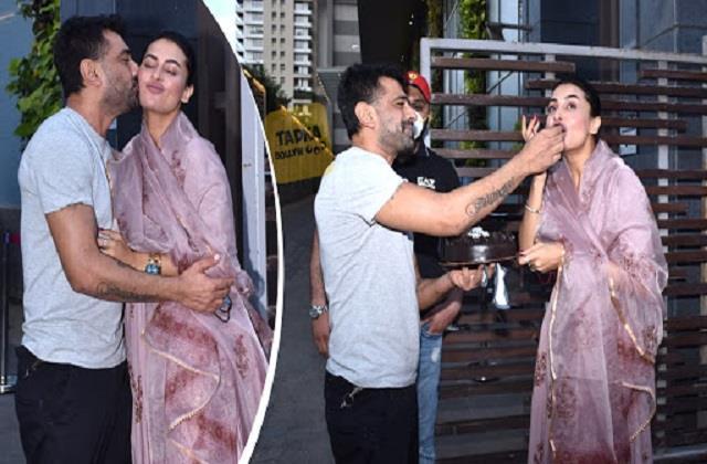 pavitra punia celebrates birthday with boyfriend eijaz khan