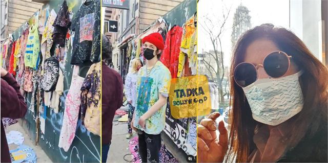 archana puran singh go street shopping in new york