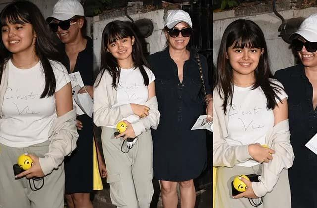 mahima chaudhry beautiful daughter ariana steal limelight