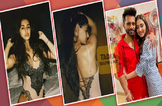 rahul vaidya remembers his girlfriend after seeing hot photos of disha patani