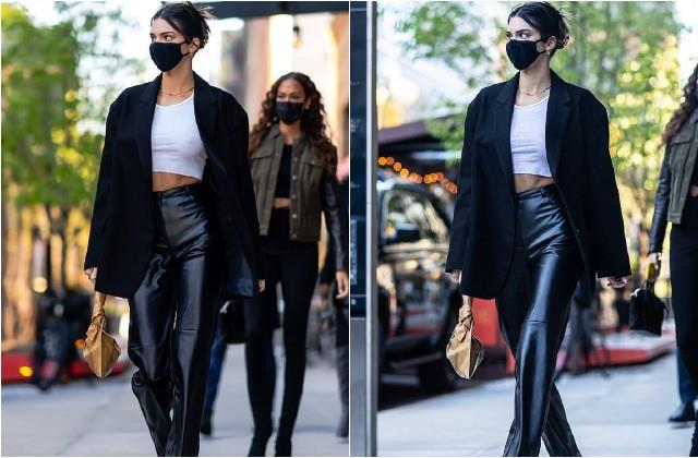kendall jenner spotted in new york