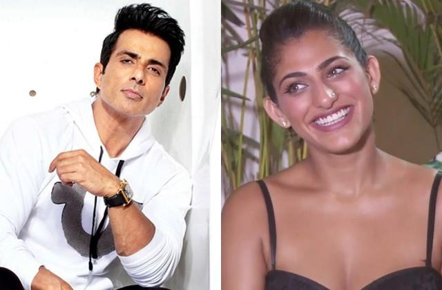 kubbra sait tweeted leave it to sonu sood to vaccinate india
