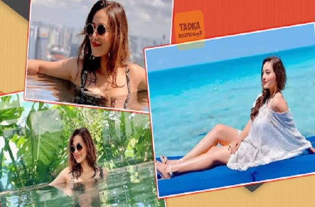 mithun chakraborty daughter in law madalsa sharma shares her hot photos
