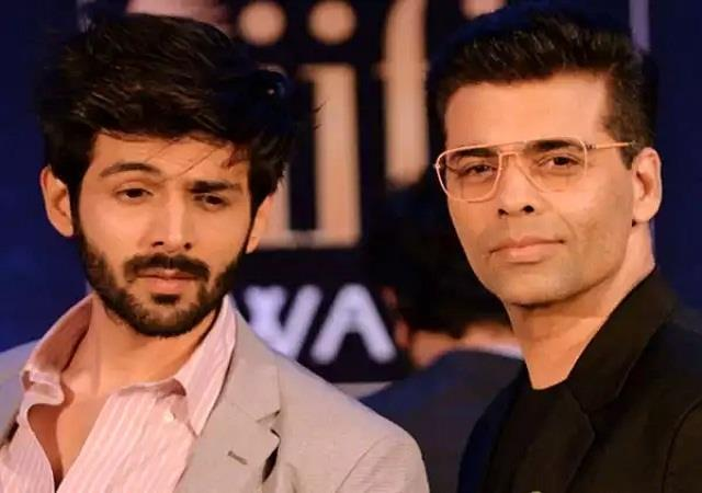 karan johar unfollows kartik aaryan on instagram after replacing from dostana 2