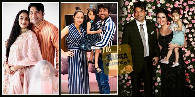 the kapil sharma show fame chandan aka chandu pictures viral with family