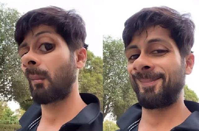shahid kapoor shares funny face video