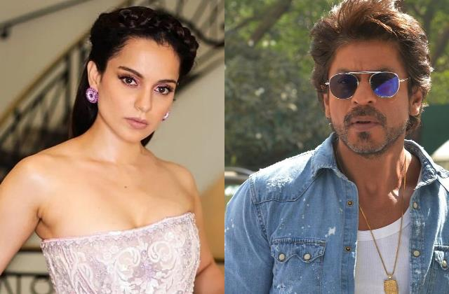 kangana ranaut compares her struggle with shahrukh khan