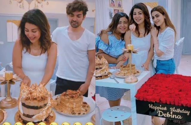 debina bonnerjee celebrate another lockdown birthday with gurmeet choudhary
