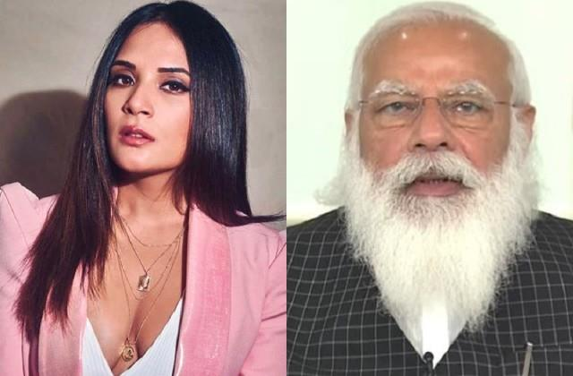 richa chadha attacks central government