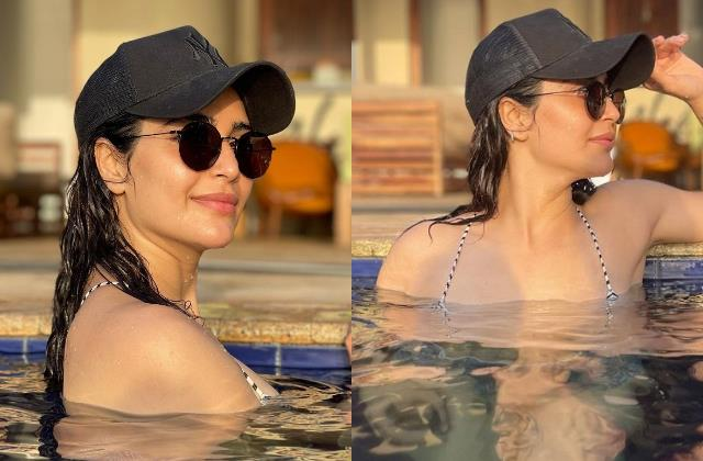 karishma tanna feeling poolholic in her latest pictures