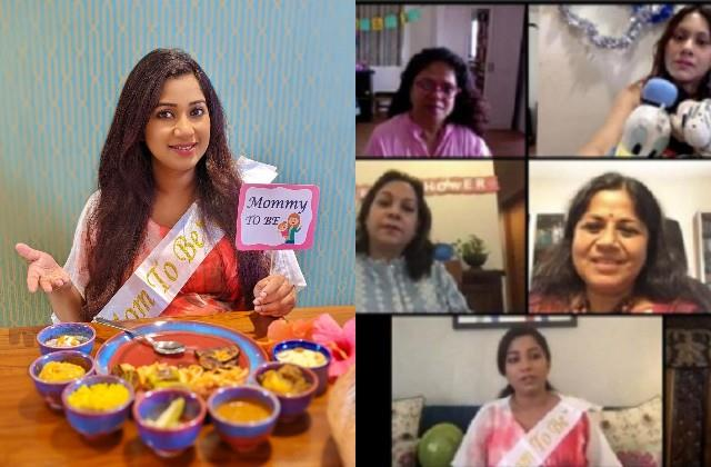 singer shreya ghoshal celebrates virtually baby shower due to corona