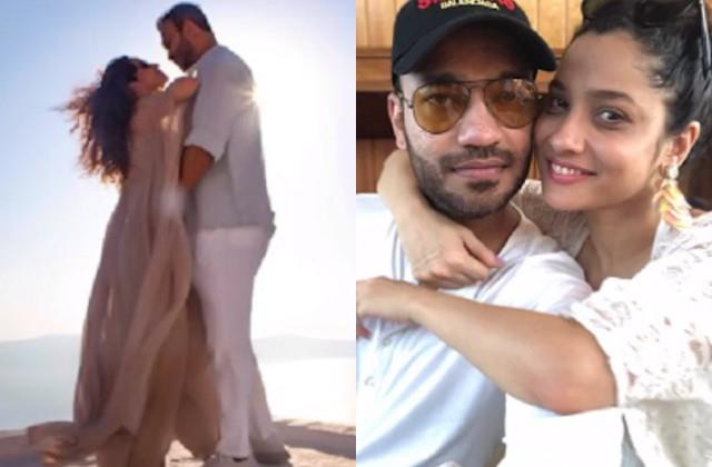 ankita lokhande shares video of her journey with boyfriend vicky jain