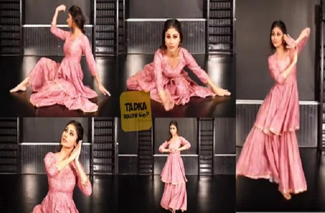 mouni roy dance video viral