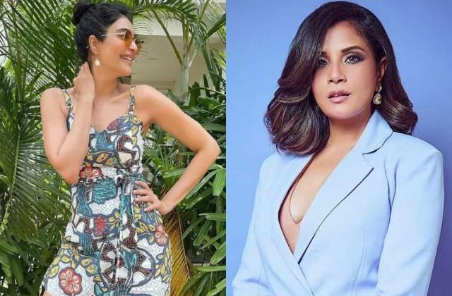 karishma tanna hit back at richa chadha for saying  mask lagao