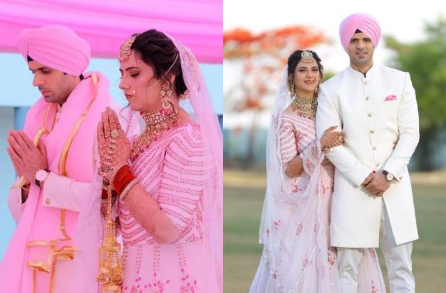 sargam ki sadhe satii actor kunal saluja tied the knot with sanjana arora