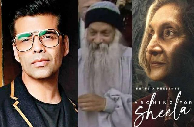 karan johar shares trailer of documentary on osho secretary mother anand sheela