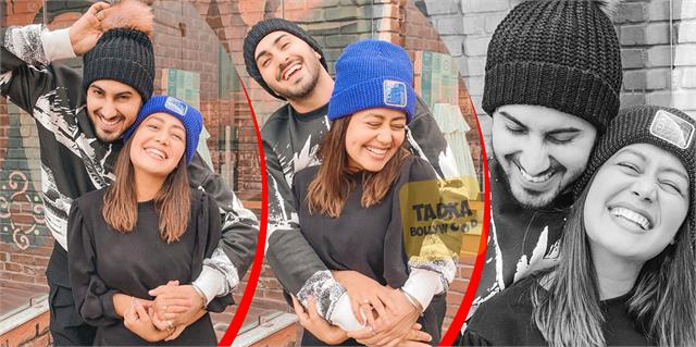 6 month wedding anniversary neha kakkar share beautiful pictures with hubby