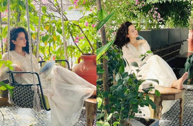 kangana ranaut spends quality time at her home during lockdown 2021