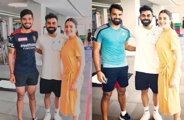 virat spotted with daughter cloth on his shoulder latest picture with anushka