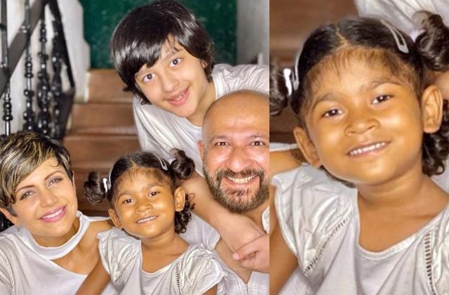 user calling mandira bedi daughter tara street kid from slumdog centre
