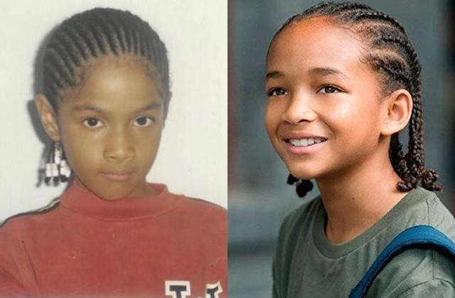 users compare masaba childhood photos to the karate kid star jaden smith