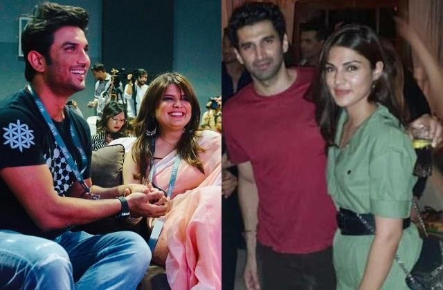 ssr friend smita says rhea was dating aditya roy kapur before sushant