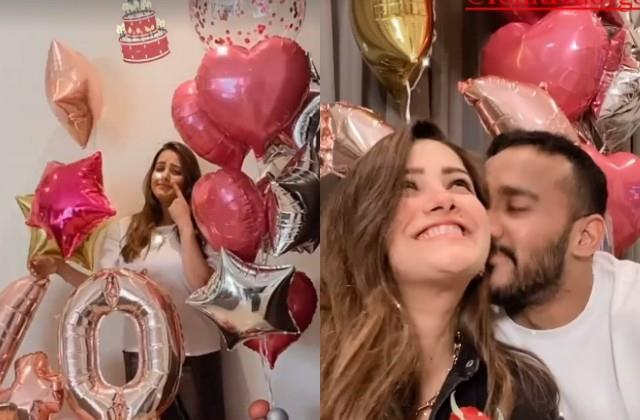 anita hassanandani celebrates her 40th birthday with husband in lockdown