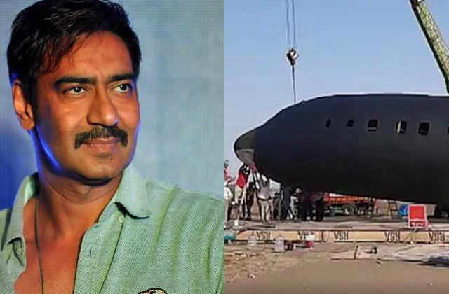 case filed against 12 crew members of ajay devgan film  mayday