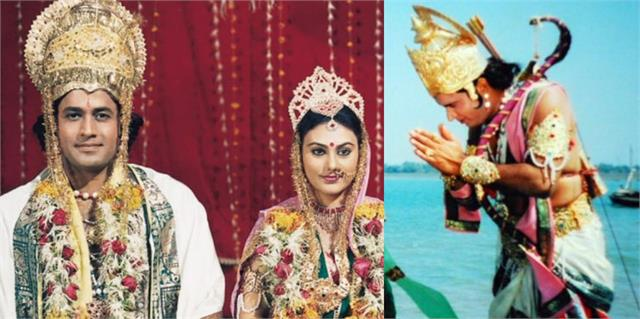 arun govil deepika chikhalia and sunil lahri wishes ram navami to fans