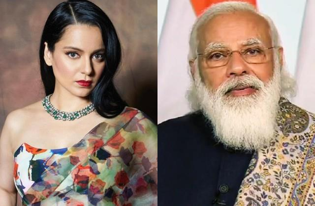 kangana ranaut came in support of pm modi in the war against corona virus