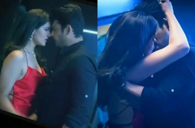 sidharth and sonia kissing scene viral from show broken but beautiful 3