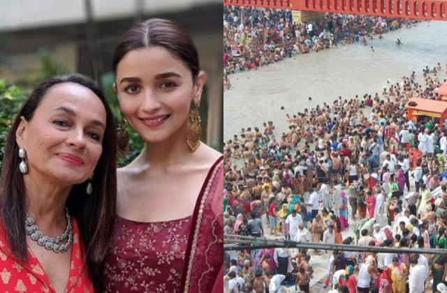 alia bhatt mother soni razdan anger over devotees crowding at kumbh mela 2021